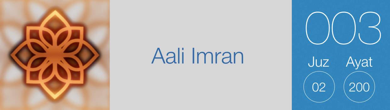 003-Aali Imran