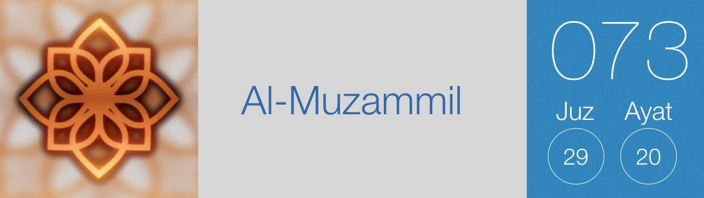 073-Al-Muzammil