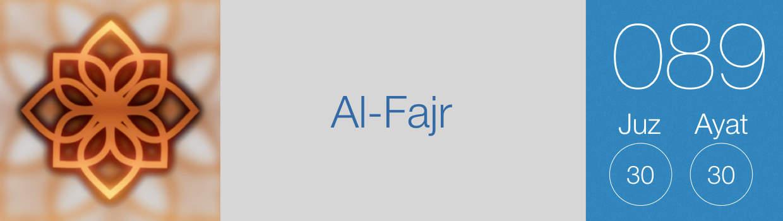 089-Al-Fajr