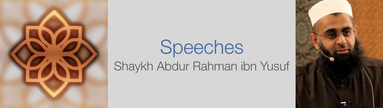 Shaykh Abdur Rahman ibn Yusuf