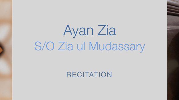 Ayan Zia